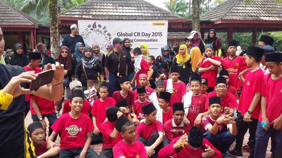 Diari 19: Program CSR Mayban bersama anak yatim