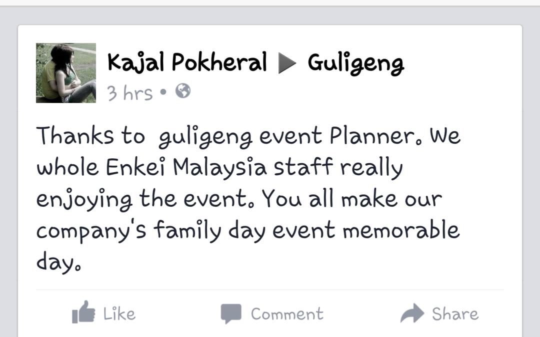Diari 20: Family Fun Day – Enkei (Malaysia)