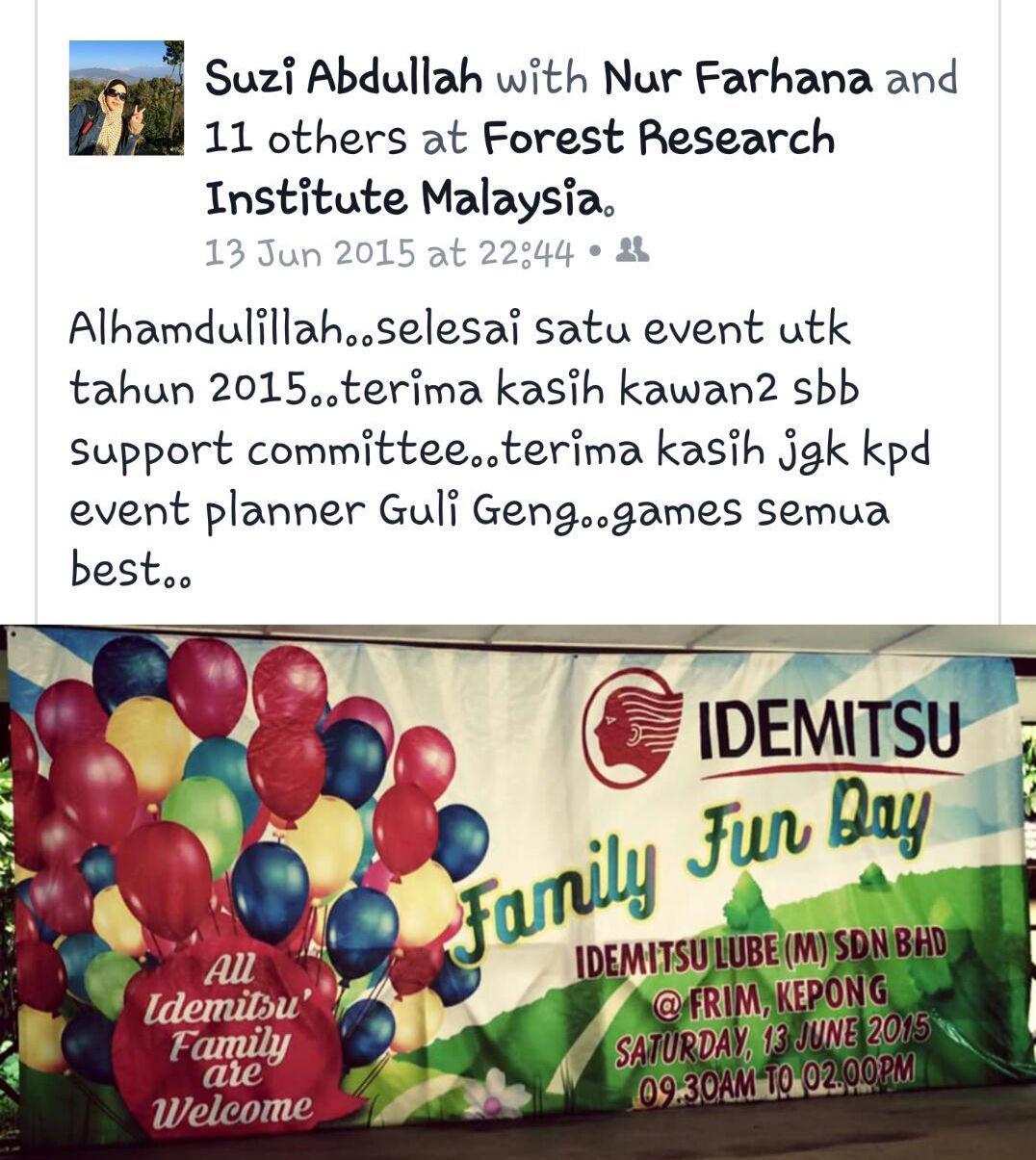 Diari 18: Family Fun Day- Idemitsu (Malaysia)